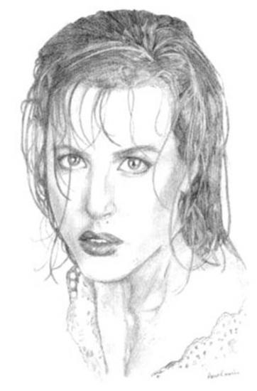 Gillian Anderson par belovedeyes82